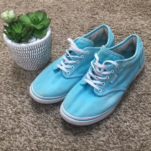 Powder Blue Vans